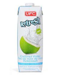 1 litro di acqua di cocco su Amazon.