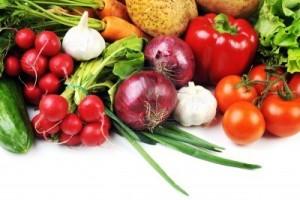 Aglio e verdure per depurare il fegato.