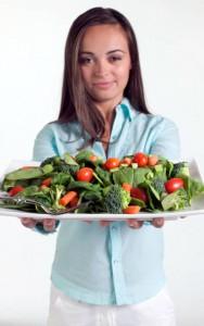 Alimenti della dieta alcalina.