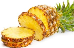 Ananas, frutto tropicale.