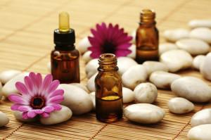 Aromaterapia e oli essenziali.