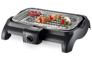 Bistecchiera elettrica per grigliate in casa.
