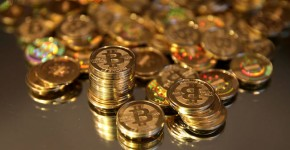 La criptomoneta digitale Bitcoin.