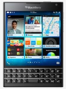 BlackBerry Passport.