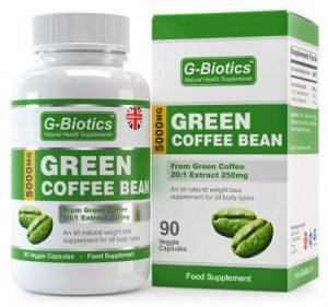Capsule di caffè verde per dimagrire.