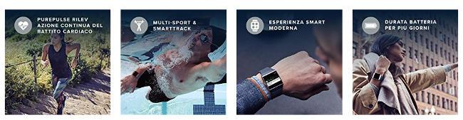 caratteristiche del Fitbit Ionic.