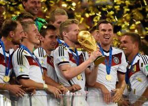 Germania campione del mondo di calcio 2014.