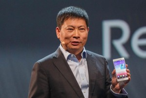 Richard Yu, CEO di Huawei.