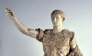 Augusto, il primo imperatore romano.