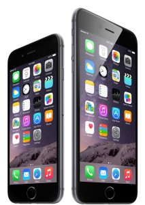 Smartphone Apple iPhone6 e iPhone6 Plus.