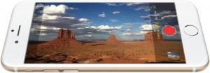 Video e fotocamera dell'iPhone 6.