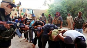 Terroristi dello Stato Islamico in Iraq.
