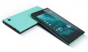 Jolla smartphone con Sailfish OS.