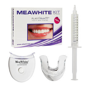 Kit sbiancante naturale per denti.