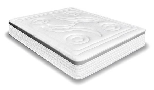 Materasso viscoelastico bianco su Amazon.