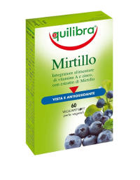 Integratore mirtillo.