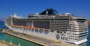 La nave da crociera MSC Splendida.