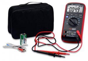 Multimetro digitale o tester digitale, strumentazione elettronica.