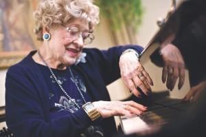 Musica e persone anziane.