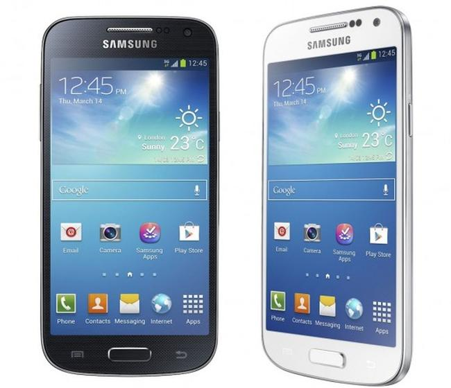 Samsung Galaxy S4 Mini.