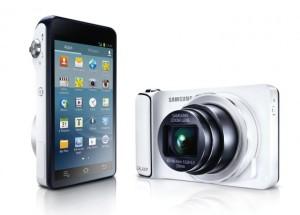 Fotocamera con android Samsung Galaxy Camera.