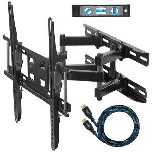 staffa da parete per montaggio televisore e monitor.