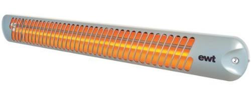 Lampada riscaldante infrarossi al quarzo.